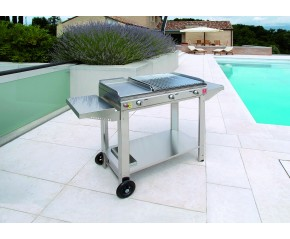 Barbecue Planet a gas Mix Pietra Lavica 78